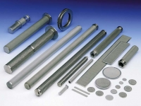 porous metal filter components