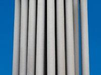 Filter bundle with tube sheet