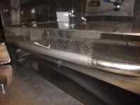porous metal sparger testing