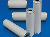 sintered porous metal DOE filter elements