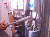 sanitary sparger design for carbonation purpose