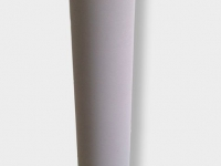 porous metal roll 12 inch OD for food processing