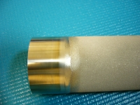 porous metal weld