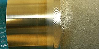 Porous metal welding